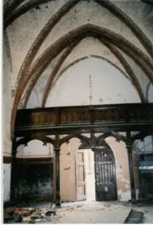 Fragmenta wnętrza, w 2004 roku, fot. B.Adamska